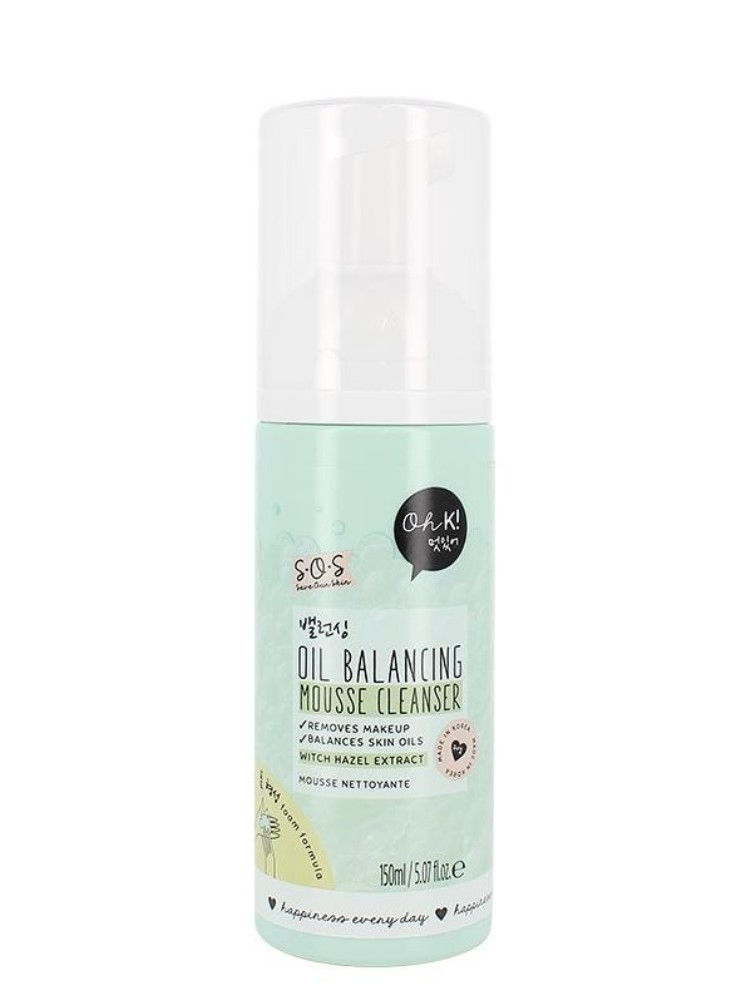 OH K! SOS MOUSSE CLEANSER