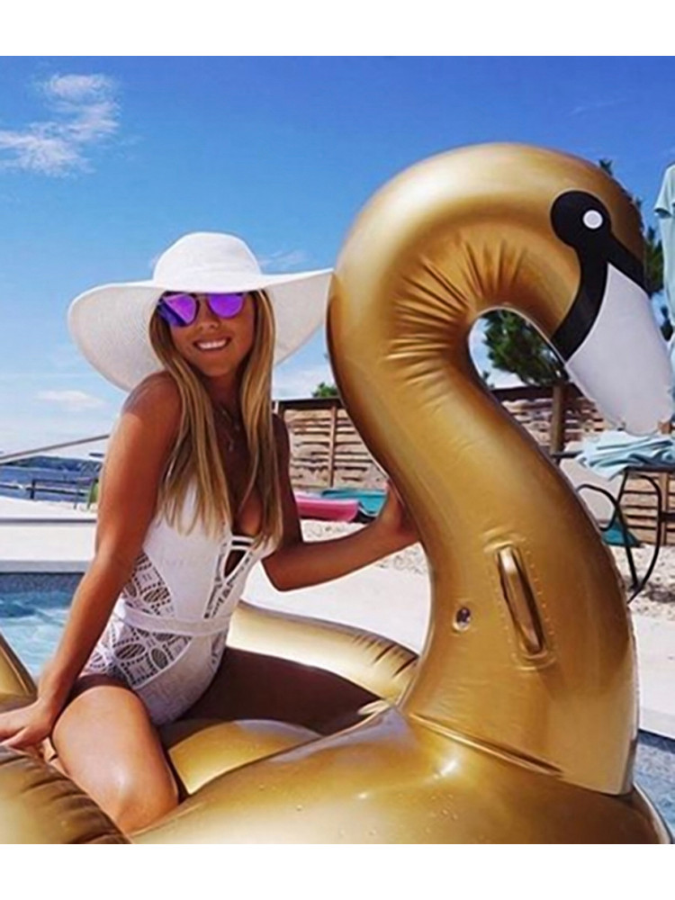 SUNNYLIFE GOLD SWAN INFLATABLE