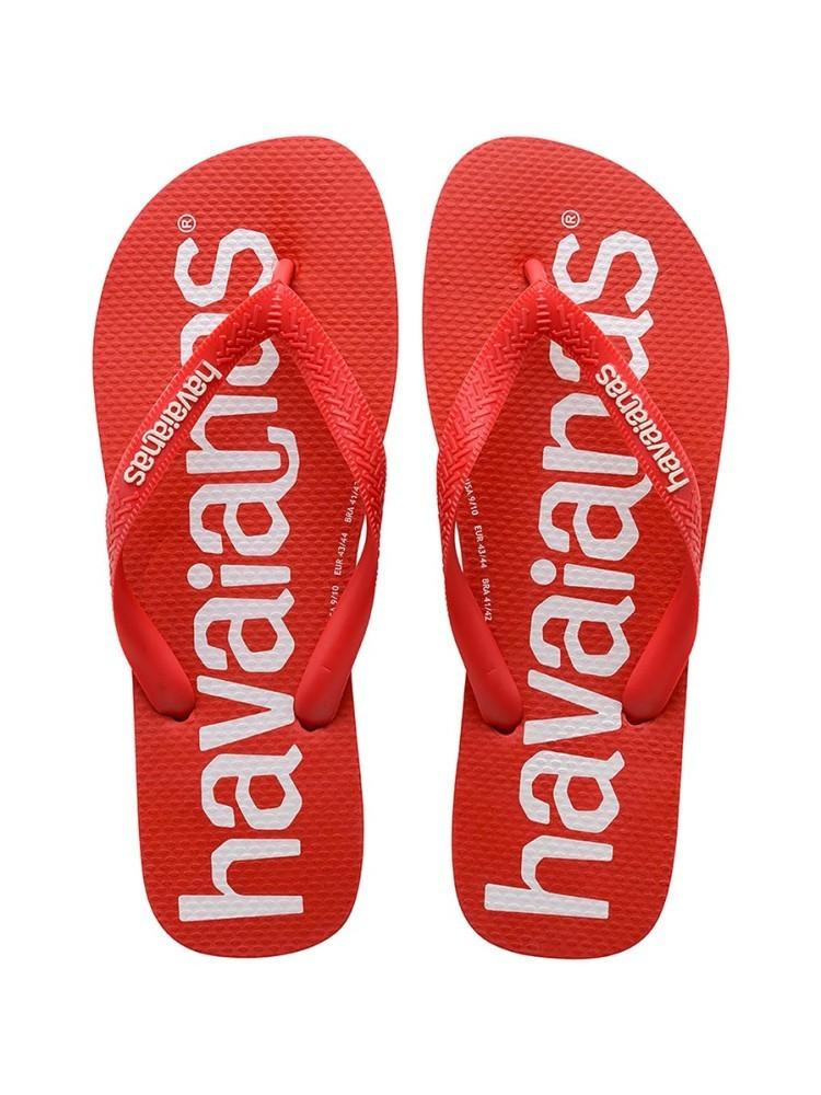 HAVAIANAS TOP RED LOGO MANIA