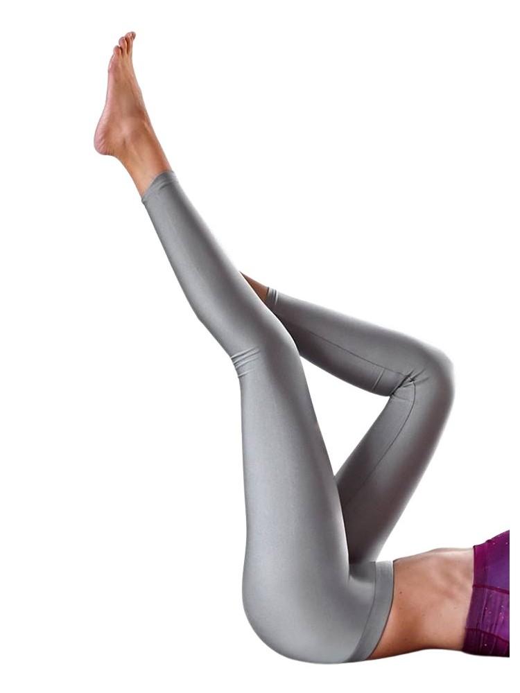 SUPER LYCRA SILVER LEGGINGS